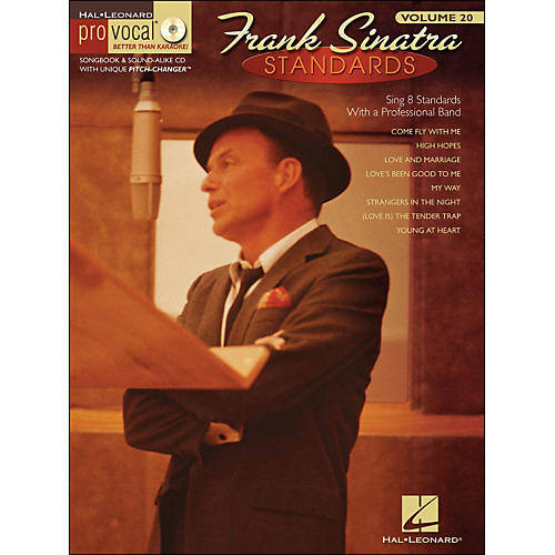 Hal Leonard Frank Sinatra Standards - Pro Vocal Series Volume 20 Book/CD