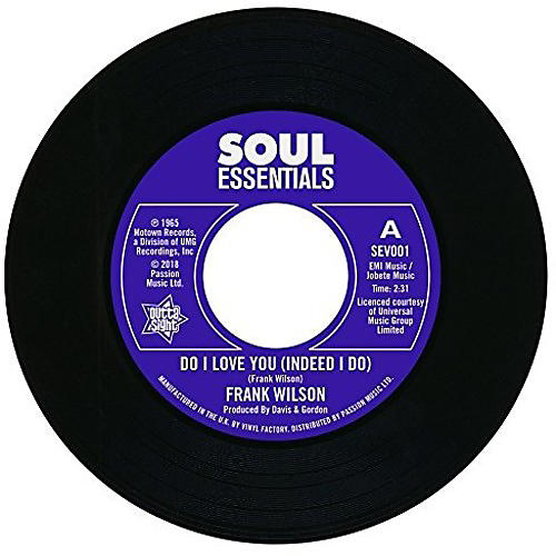 Alliance Frank Wilson - Do I Love You (Indeed I Do) / Sweeter As The Days Go By