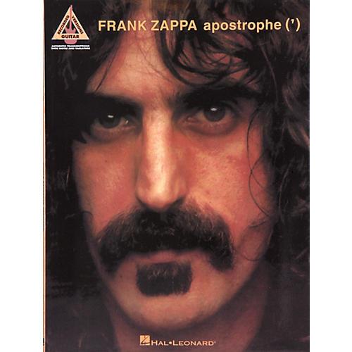 Hal Leonard Frank Zappa - Apostrophe (') Book