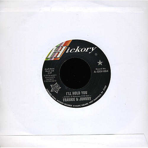 Alliance Frankie & Johnny - I'll Hold You/I'll Hold You on Air Version