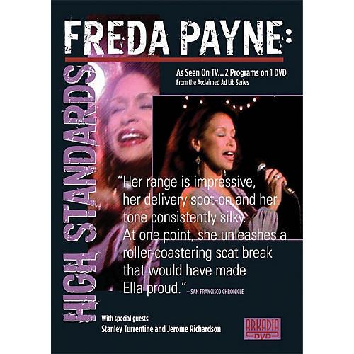 Hal Leonard Freda Payne - High Standards (Visions of Jazz Series) DVD Series DVD Performed by Freda Payne