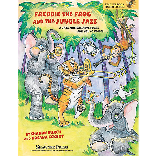 Shawnee Press Freddie the Frog and the Jungle Jazz Performance/Accompaniment CD Composed by Sharon Burch