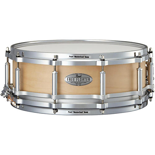 pearl free floating maple snare drum musician 39 s friend. Black Bedroom Furniture Sets. Home Design Ideas