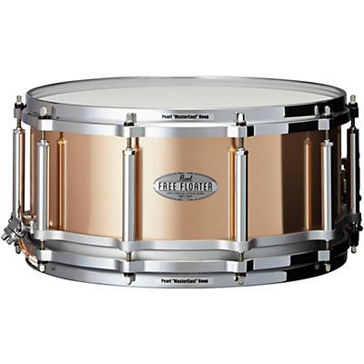 Pearl Free Floating Phosphor Bronze Snare Drum