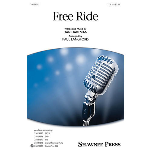 Shawnee Press Free Ride TTB arranged by Paul Langford
