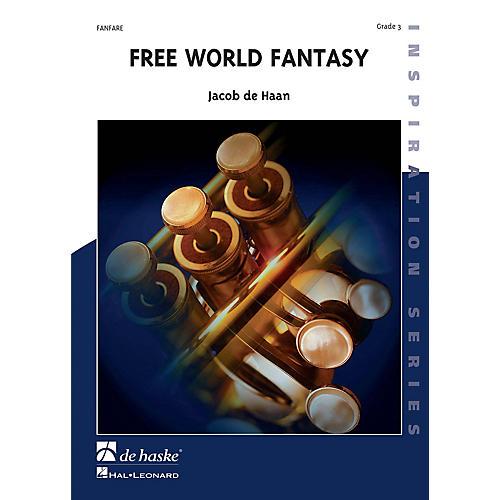 Hal Leonard Free World Fantasy Score Only Concert Band