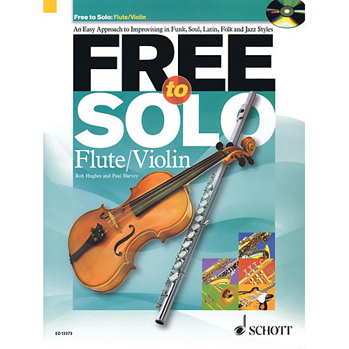 Schott Free to Solo Flute or Violin Schott Series