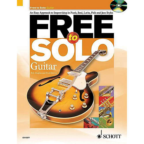 Schott Free to Solo Guitar Schott Series Softcover with CD