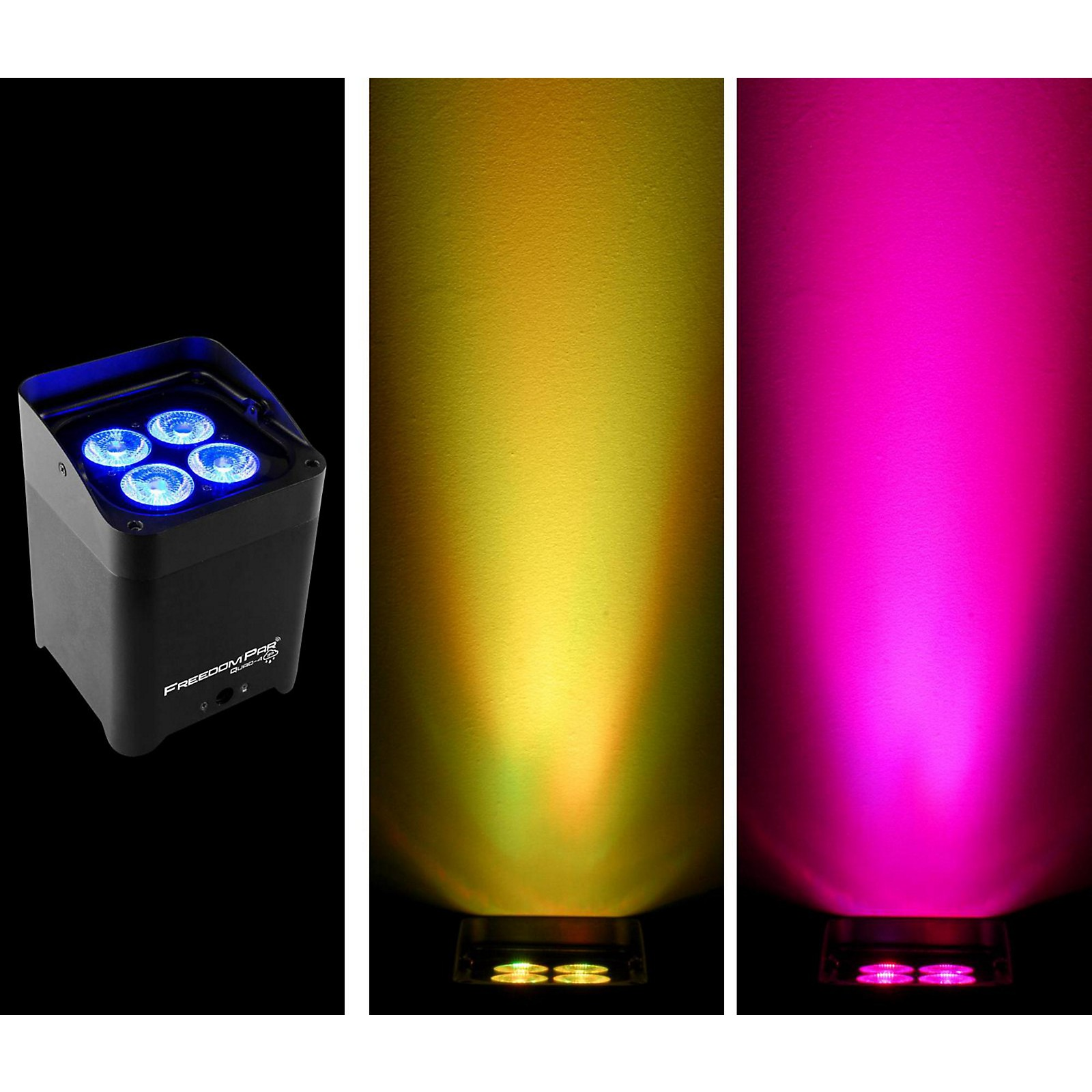 CHAUVET DJ Freedom Par Quad-4 Battery-Powered LED Wash Light