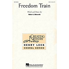 Hal Leonard Freedom Train SATB composed by Rollo Dilworth