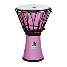 Freestyle ColorSound Djembe Metallic Violet 7 in.