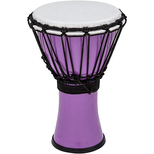 Toca Freestyle ColorSound Djembe Pastel Purple 7 in.