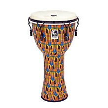 Freestyle Djembe - Kente Cloth Mechanically Tuned 12 in.