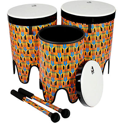 Toca Freestyle II Nesting Tom-Tom Drums With Mallets