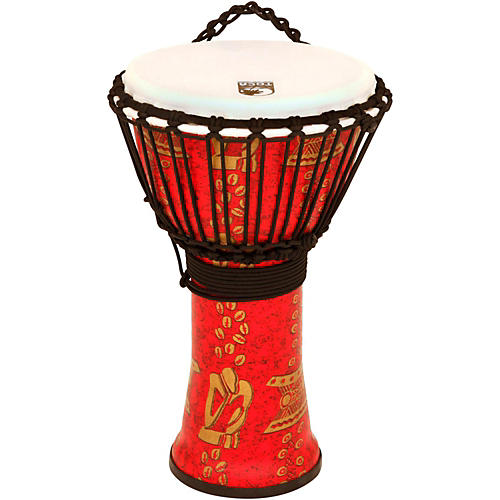 Toca Freestyle II Rope-Tuned Djembe 10 in. Thinker