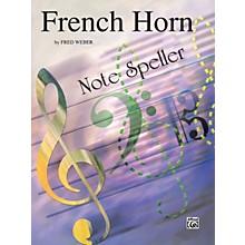 Alfred French Horn Note Speller French Horn