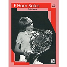 Alfred French Horn Solos Level I Solo Book