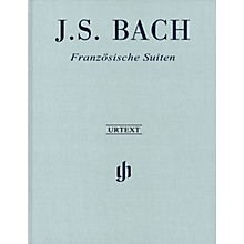 G. Henle Verlag French Suites BWV 812-817 Revised Edition Clothbound Henle Music Hardcover by Bach Edited by Scheideler