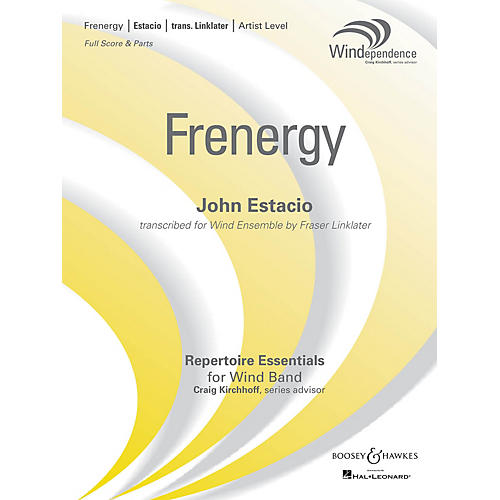 Boosey and Hawkes Frenergy (Score Only) Concert Band Level 5 Composed by John Estacio