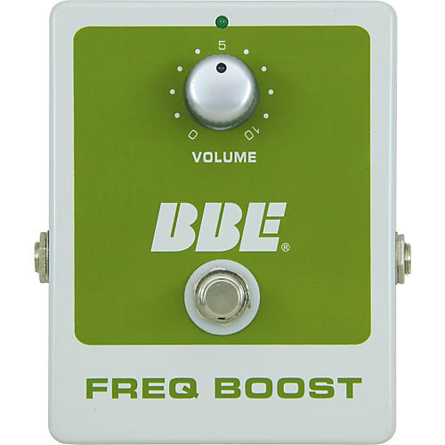 BBE Freq Boost Treble Booster Effect Pedal
