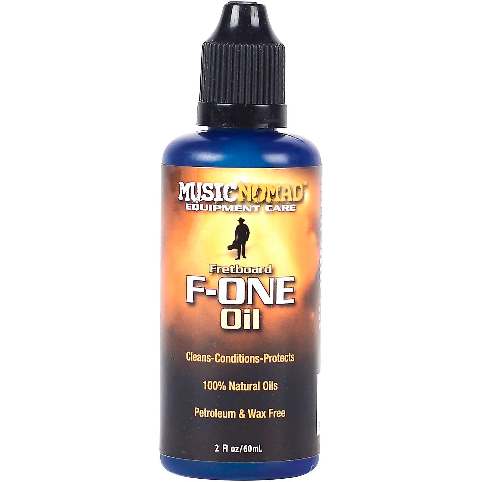 MusicNomad Fretboard F-ONE Oil - Cleaner & Conditioner - 2 oz.