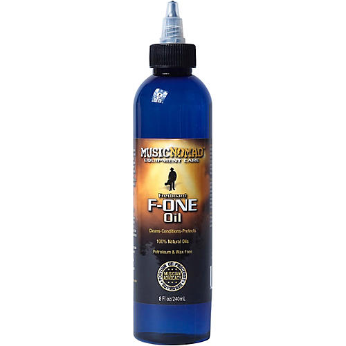 Music Nomad Fretboard F-ONE Oil 8 oz Tech Size - Cleaner & Conditioner