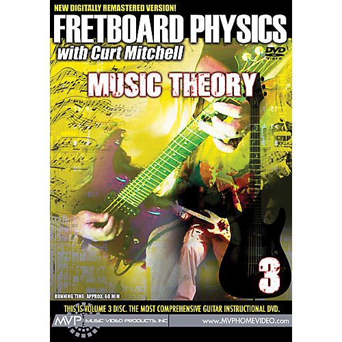 MVP Fretboard Physics 3 DVD - Music Theory for Guitarists