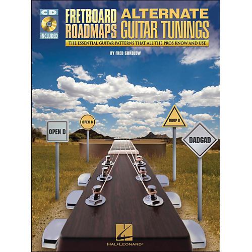 Hal Leonard Fretboard Roadmaps - Alternate Guitar Tunings (Book/CD)