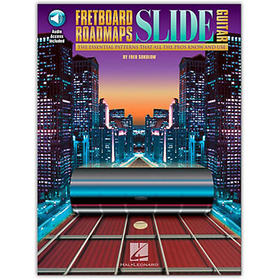Hal Leonard Fretboard Roadmaps - Slide Guitar (Book/Online Audio)