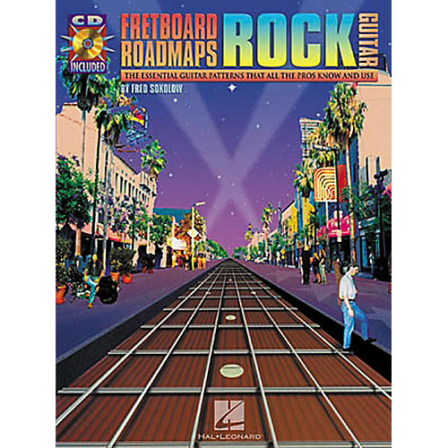 Hal Leonard Fretboard Roadmaps: Rock Guitar (Book/CD)