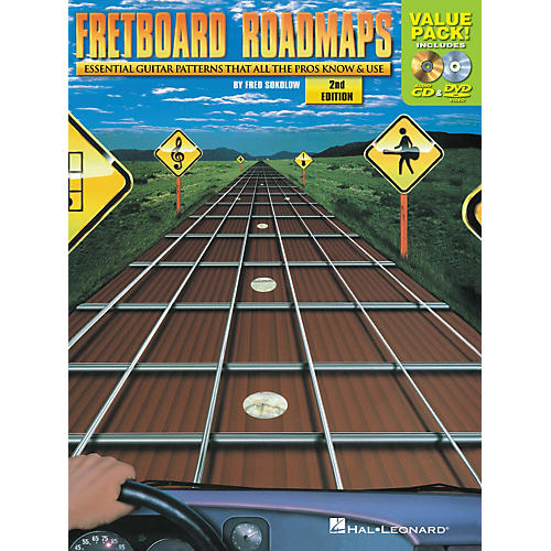 Hal Leonard Fretboard Roadmaps Value Pack (Book/CD/DVD)
