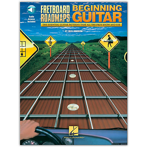 Hal Leonard Fretboard Roadmaps for the Beginning Guitarist (Book/Online Audio)