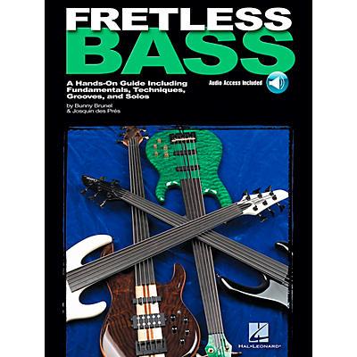 Hal Leonard Fretless Bass (Book/CD)