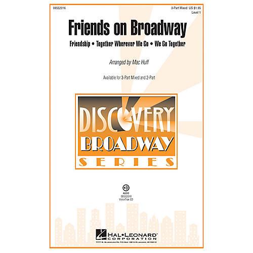 Hal Leonard Friends on Broadway VoiceTrax CD Arranged by Mac Huff