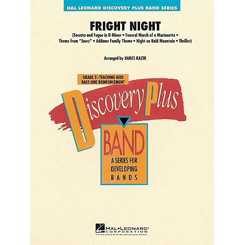 Hal Leonard Fright Night - Discovery Plus Band Level 2 arranged by James Kazik