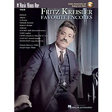 Music Minus One Fritz Kreisler - Favorite Encores (Deluxe 2-CD Set) Music Minus One Series Softcover with CD