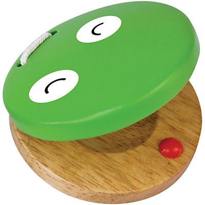 Green Tones Frog Castanet