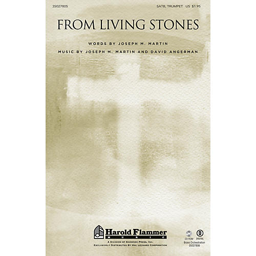 Shawnee Press From Living Stones ORCHESTRA ACCOMPANIMENT Composed by Joseph M. Martin