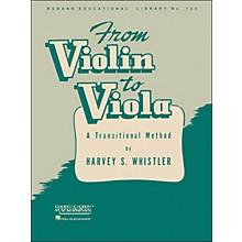 Hal Leonard From Violin To Viola