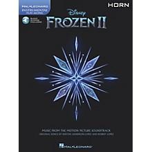 Hal Leonard Frozen II Horn Play-Along Instrumental Songbook Book/Audio Online