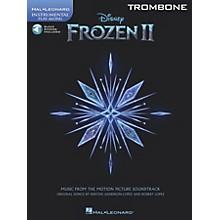 Hal Leonard Frozen II Trombone Play-Along Instrumental Songbook Book/Audio Online