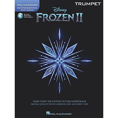 Hal Leonard Frozen II Trumpet Play-Along Instrumental Songbook Book/Audio Online