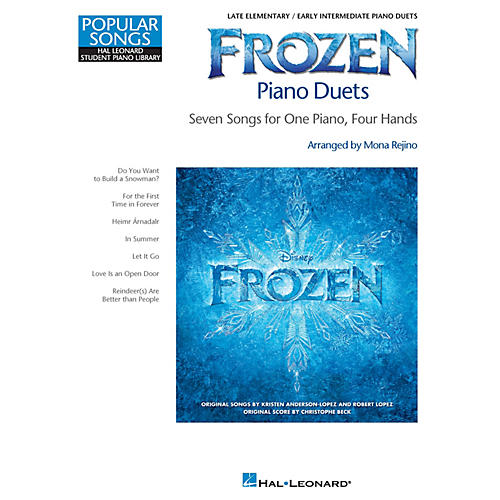 Hal Leonard Frozen Piano Duets Piano Library Series Book (Level Late Elem)