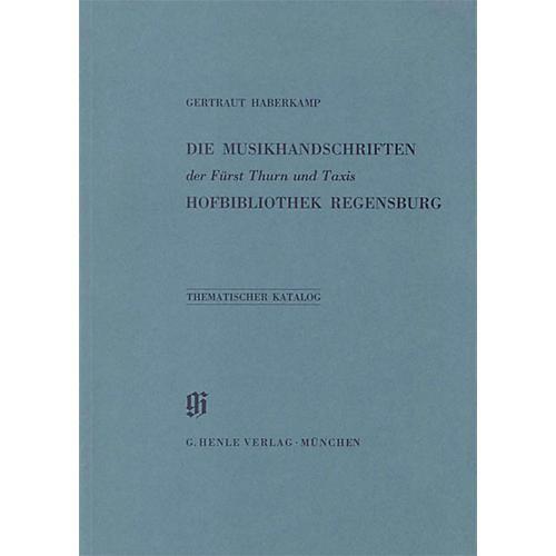 G. Henle Verlag Fürst Thurn und Taxis Hofbibliothek in Regensburg Henle Books Series Softcover