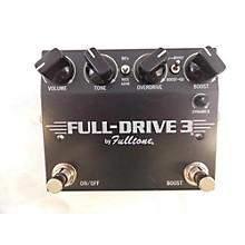 Fulltone Full-Drive 3 Effect Pedal