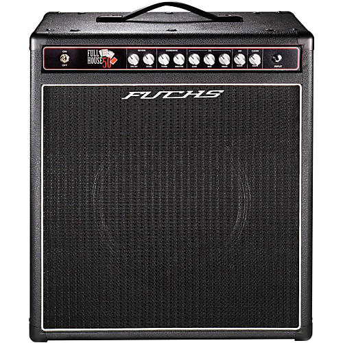 Fuchs Full House 1x12 50W Tube Guitar Combo Amp and 4-Button Artist Footswitch Kit