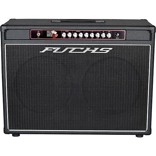 Fuchs Full House 2x12 50W Tube Guitar Combo Amp and 4-Button Artist Footswitch Kit