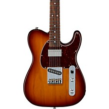 Fullerton Deluxe ASAT Classic Bluesboy Electric Guitar Caribbean Rosewood Fingerboard Old School Tobacco