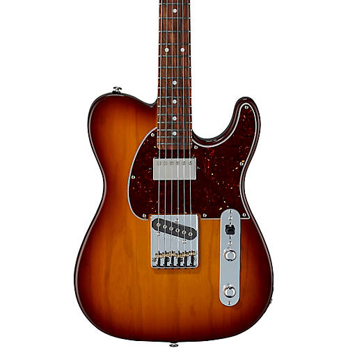 G&L Fullerton Deluxe ASAT Classic Bluesboy Electric Guitar Caribbean Rosewood Fingerboard Old School Tobacco