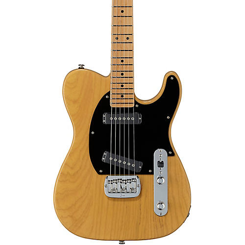 G&L Fullerton Deluxe ASAT Special Maple Fingerboard Electric Guitar Butterscotch Blonde